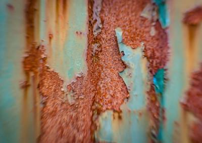 Rust gir spennende teksturer.