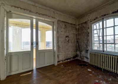 Fuhr. Rommet med glassverandaen.