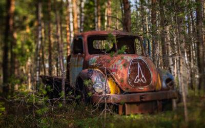 En forlatt skatt i de dype skoger