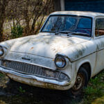 Ford Anglia med patina